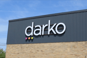 Darko Building Sign