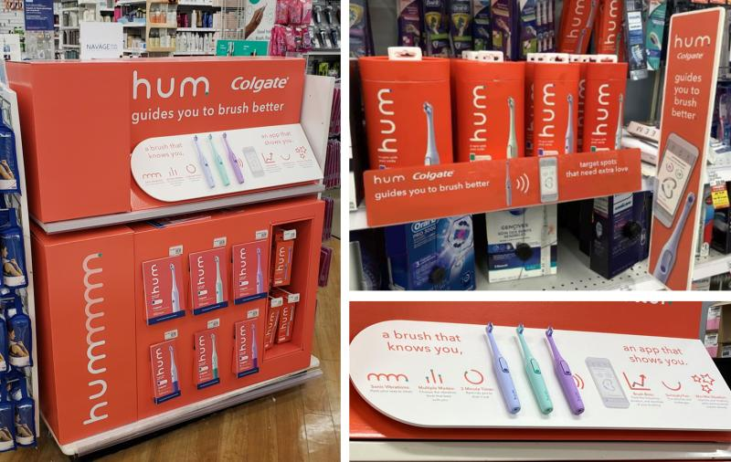 In-store activations are complete for Colgate-Palmolive