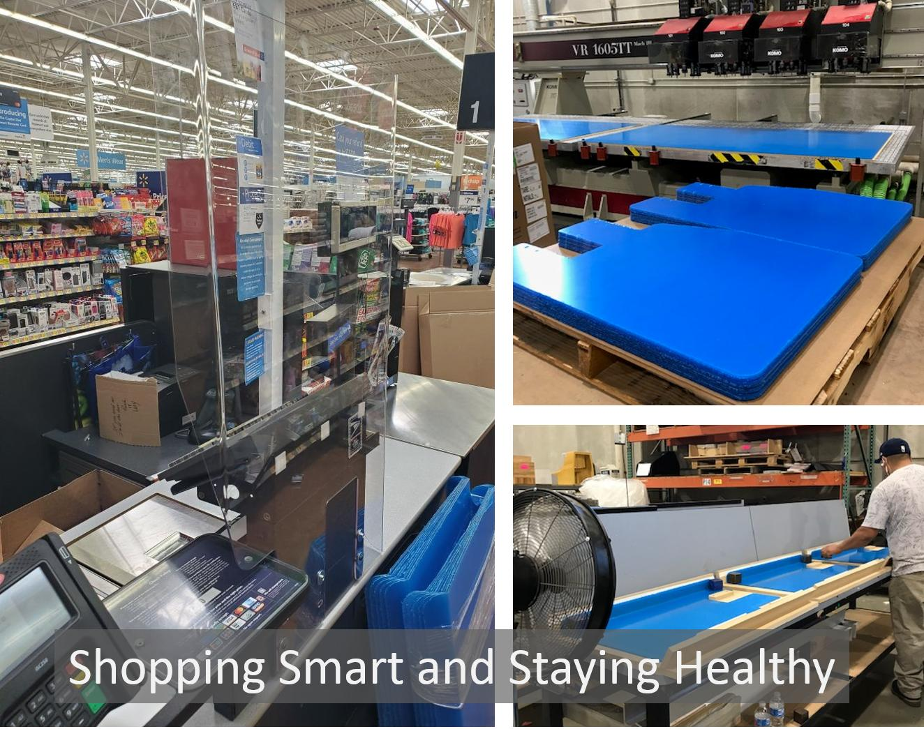 Protective Shields in Physical Retail Spaces