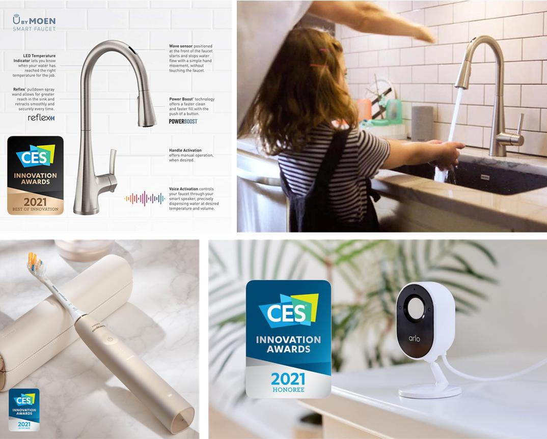 Congratulations to all of our brand partners for being recognized as innovators at the Best of #CES2021